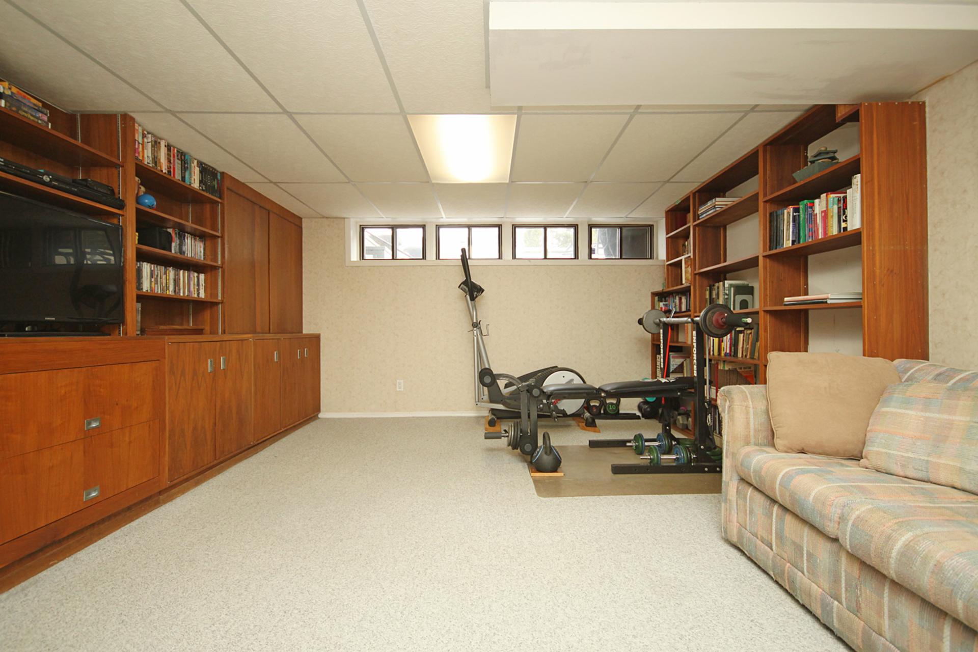 Recreation Room at 10 North Hills Terrace, Banbury-Don Mills, Toronto