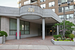 Front at 1002 - 205 Wynford Drive, Banbury-Don Mills, Toronto