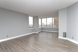Living Room at 1002 - 205 Wynford Drive, Banbury-Don Mills, Toronto