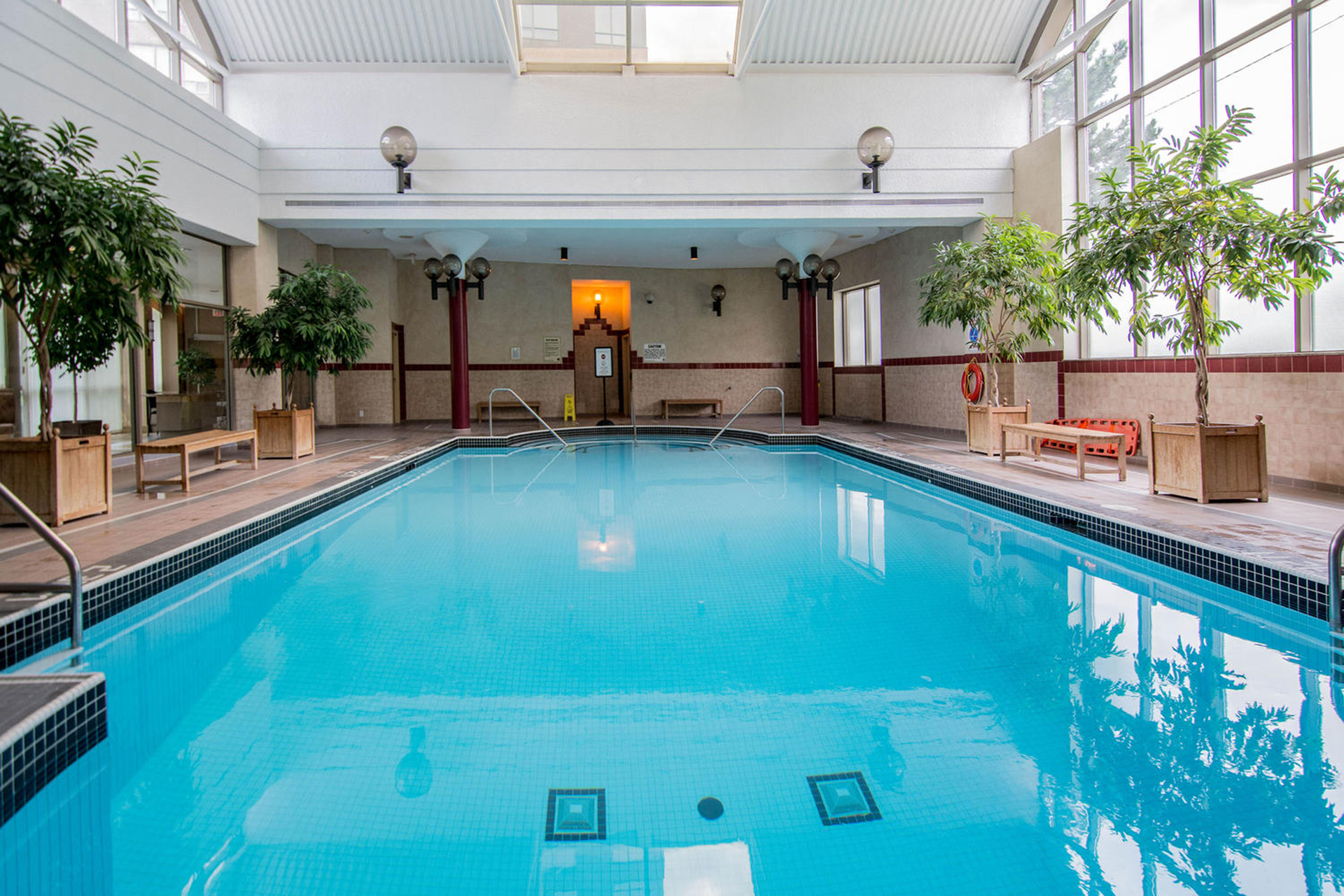 Swimming Pool at 1002 - 205 Wynford Drive, Banbury-Don Mills, Toronto