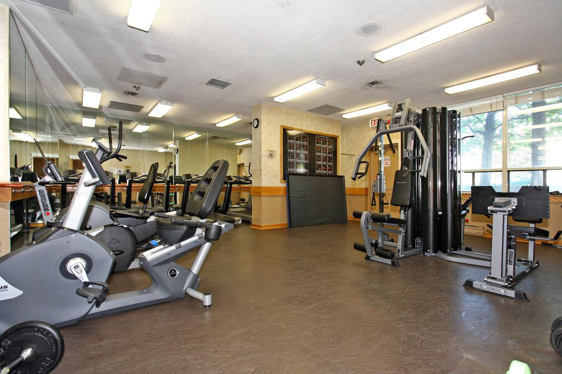 Exercise Room at 1002 - 205 Wynford Drive, Banbury-Don Mills, Toronto