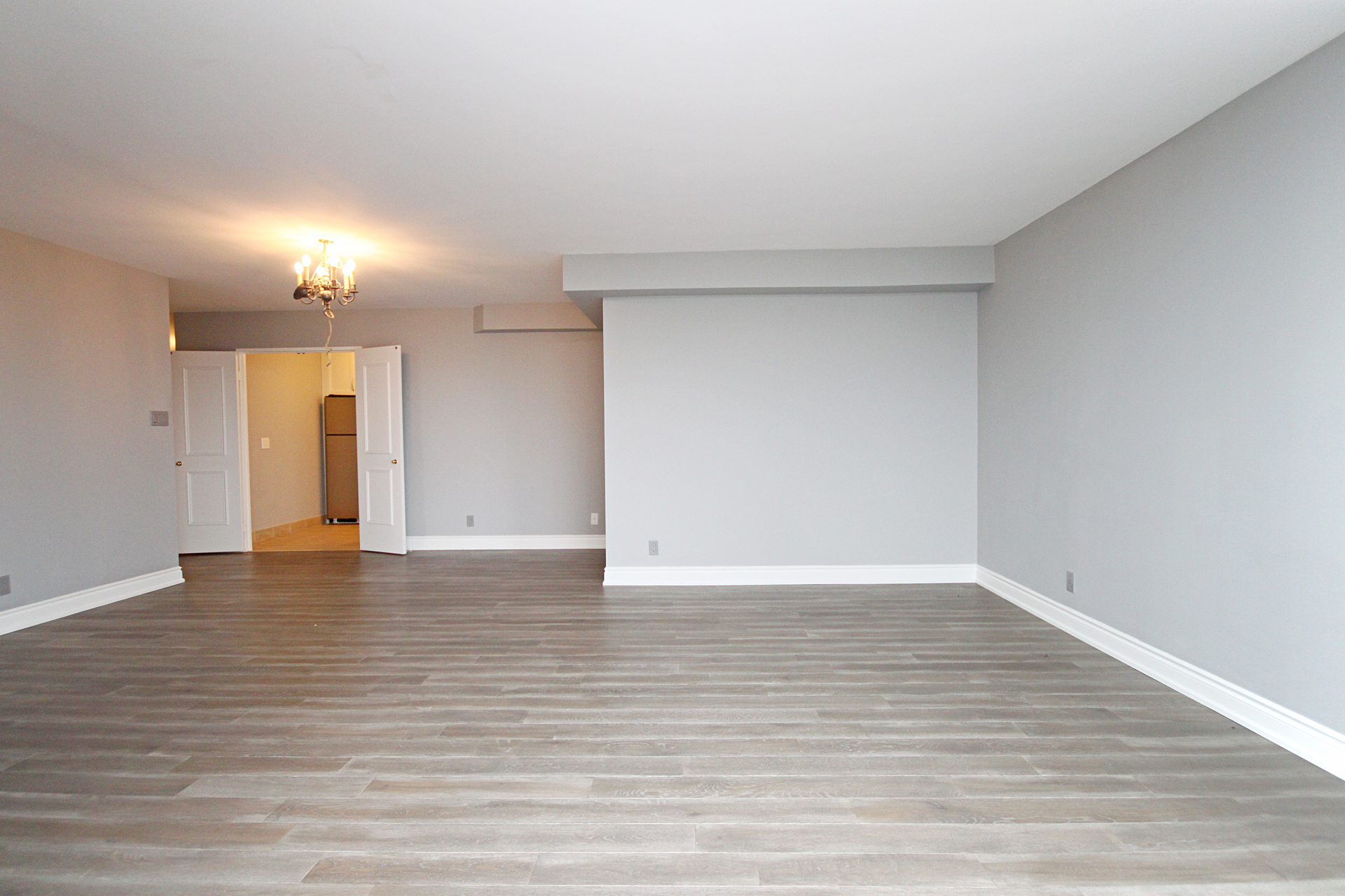 Living & Dining Room at 1002 - 205 Wynford Drive, Banbury-Don Mills, Toronto
