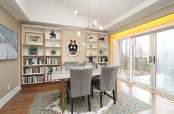 Dining Room at 39 Sagebrush Lane, Parkwoods-Donalda, Toronto