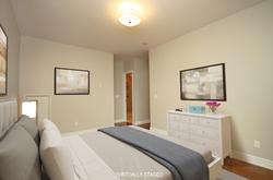 Primary Bedroom Virtually Staged at 302 - 20 Burkebrook Place, Bridle Path-Sunnybrook-York Mills, Toronto