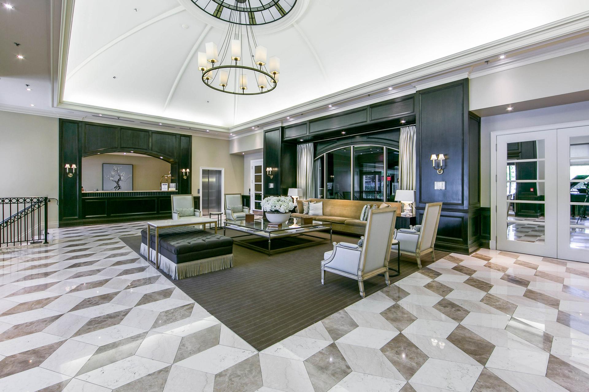 Master Bedroom at 302 - 20 Burkebrook Place, Bridle Path-Sunnybrook-York Mills, Toronto