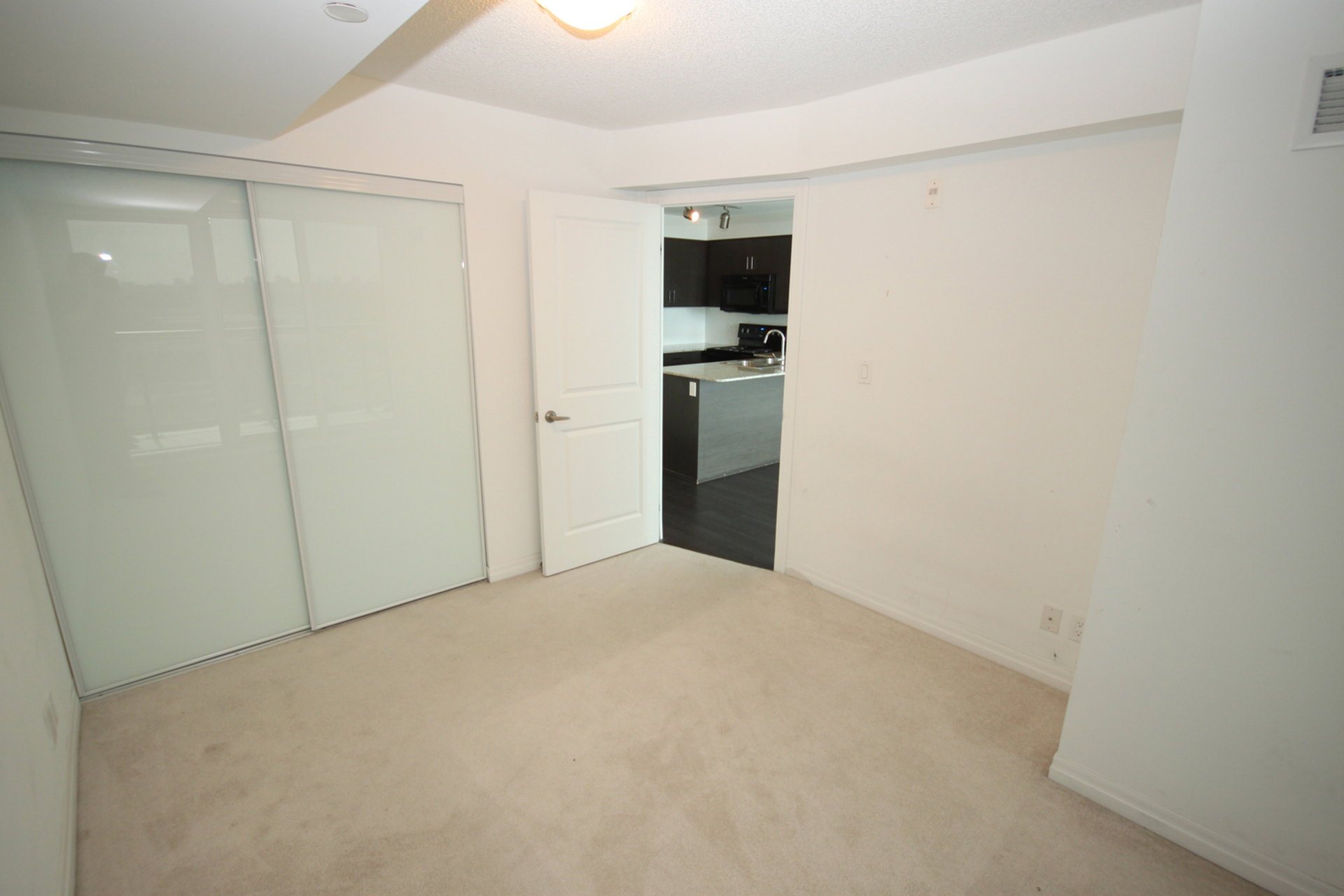 Master Bedroom at 817 - 80 Esther  Lorrie Drive, West Humber-Clairville, Toronto