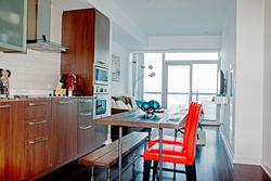 Kitchen & Living Room at 4609 - 12 York Street, Waterfront Communities C1, Toronto