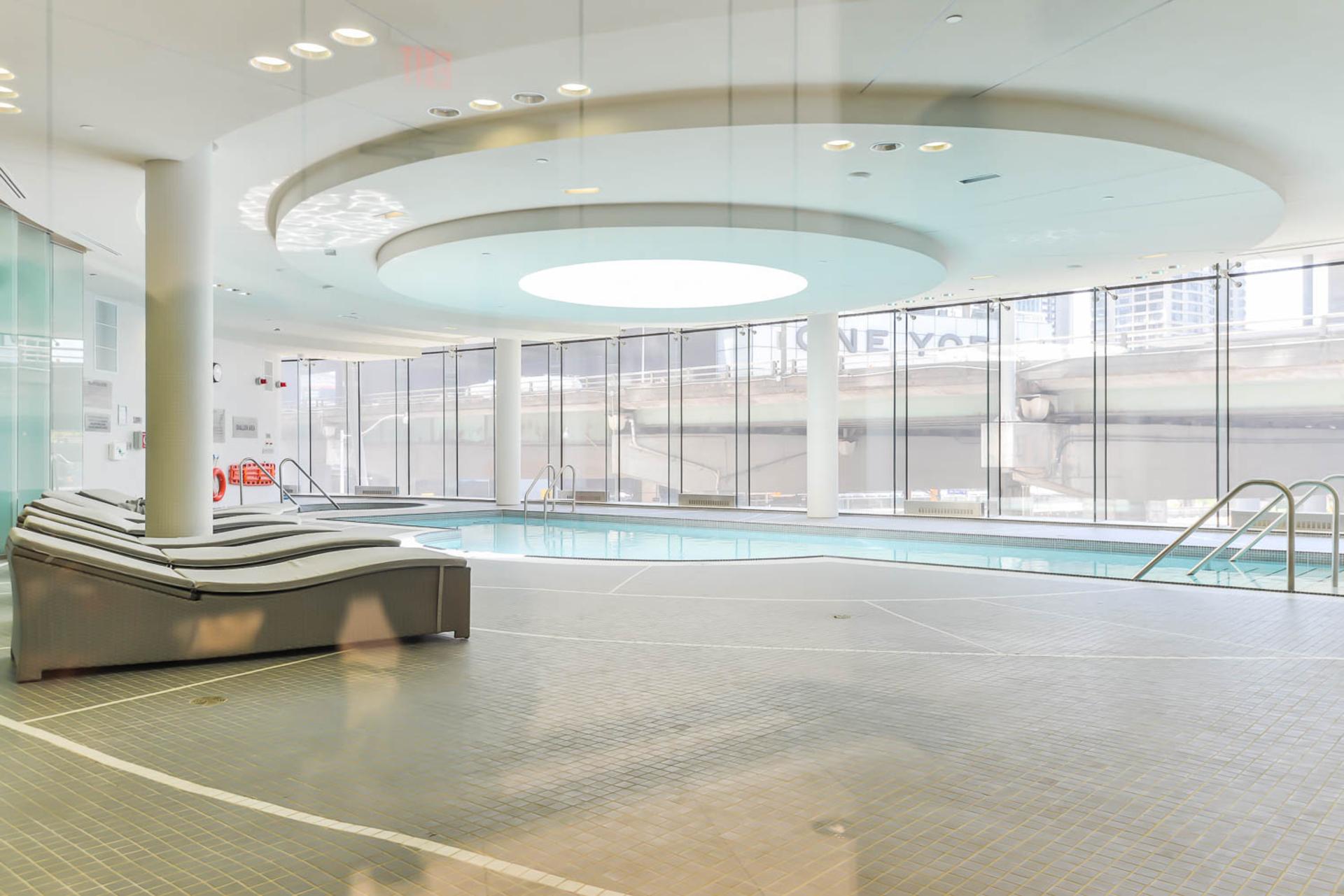 Indoor Pool at 4609 - 12 York Street, Waterfront Communities C1, Toronto