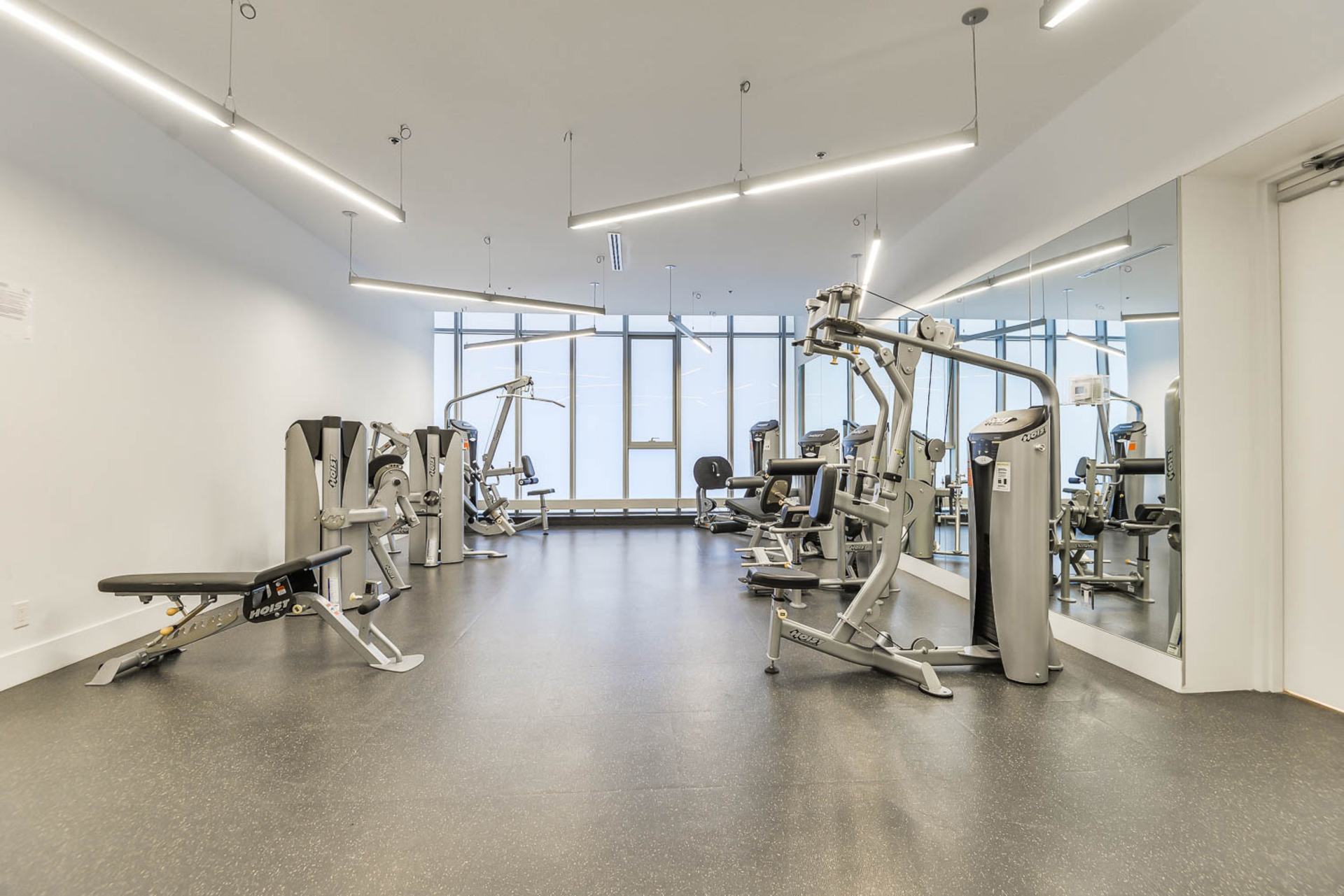 Exercise Room at 4609 - 12 York Street, Waterfront Communities C1, Toronto