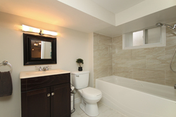 4 Piece Bathroom at 241 Milverton Boulevard, Danforth, Toronto