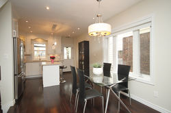 Dining Room at 241 Milverton Boulevard, Danforth, Toronto