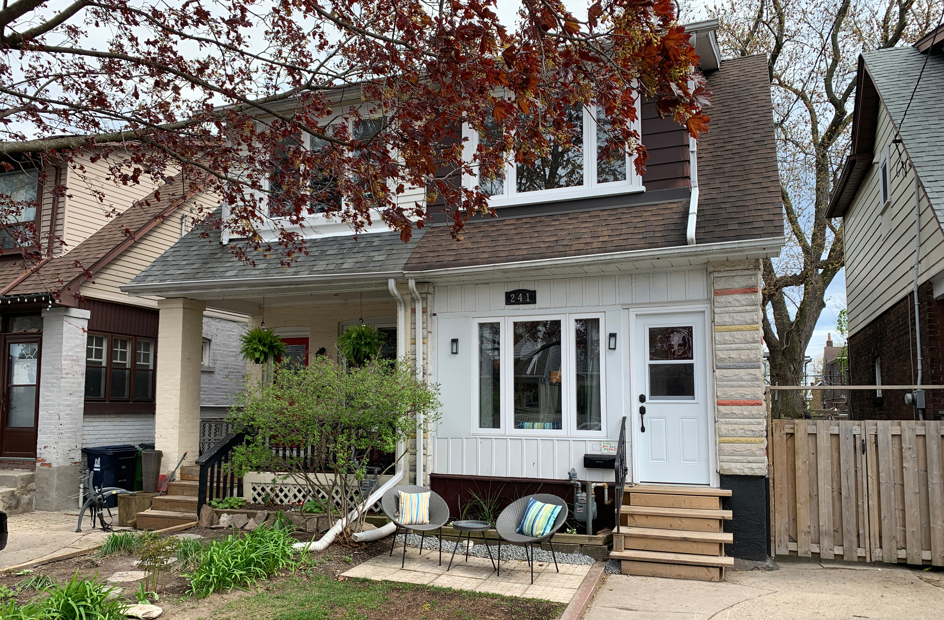 Front at 241 Milverton Boulevard, Danforth, Toronto