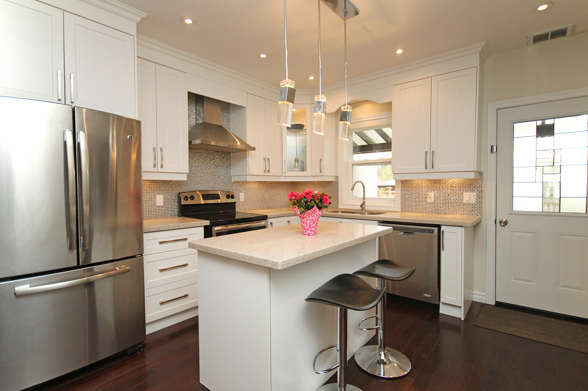 Kitchen at 241 Milverton Boulevard, Danforth, Toronto