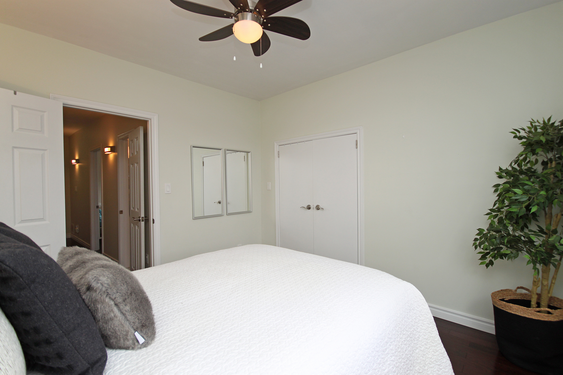Master Bedroom at 241 Milverton Boulevard, Danforth, Toronto