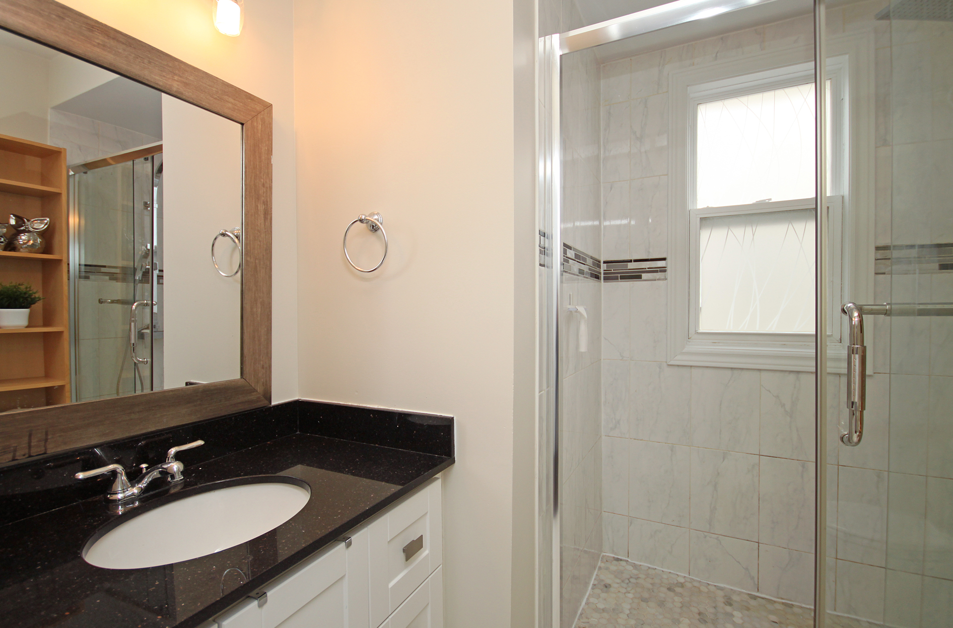 3 Piece Bathroom at 241 Milverton Boulevard, Danforth, Toronto