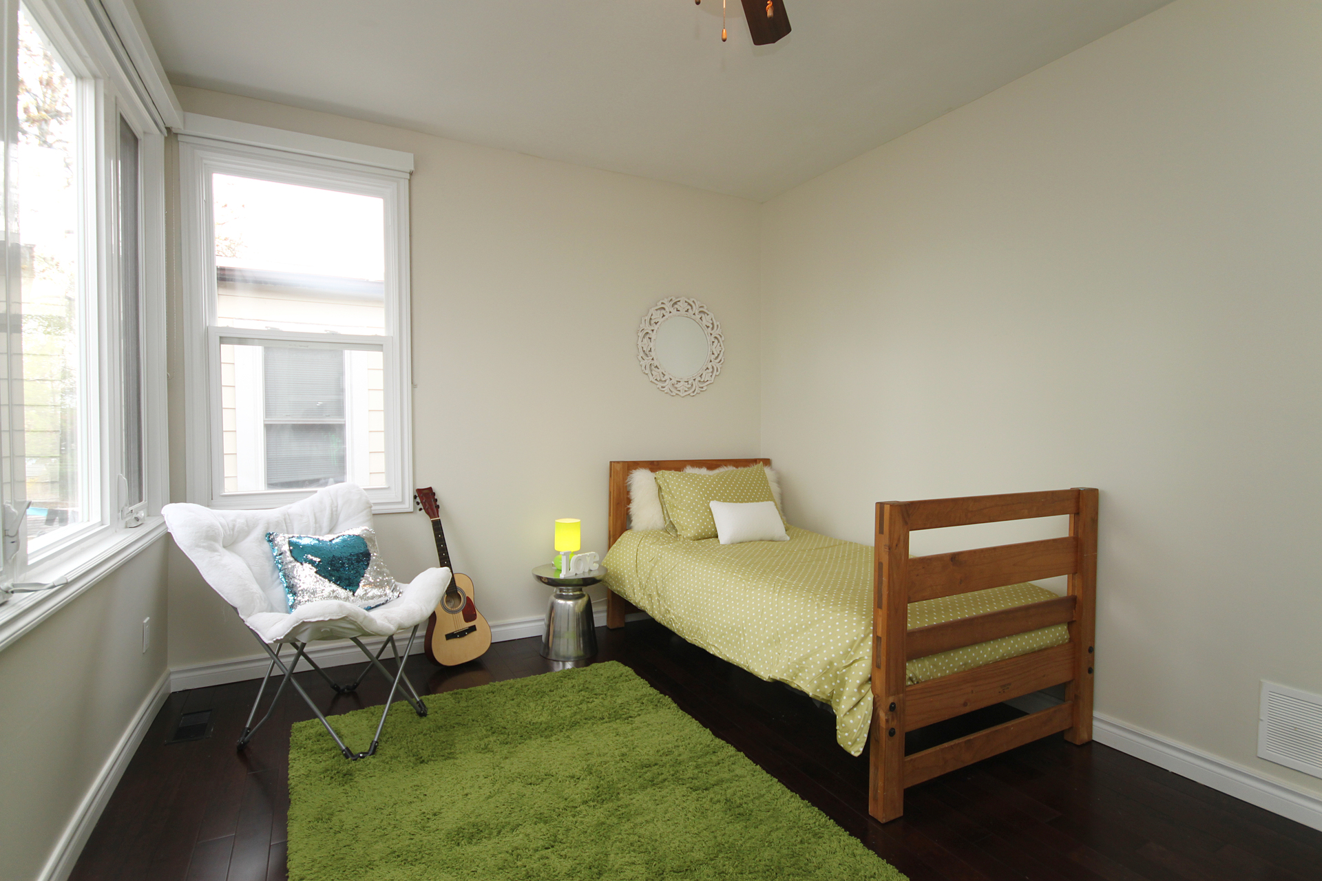 Bedroom at 241 Milverton Boulevard, Danforth, Toronto