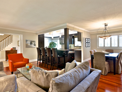 Living Room & Dining Room at 21 Deerpath Road, Parkwoods-Donalda, Toronto