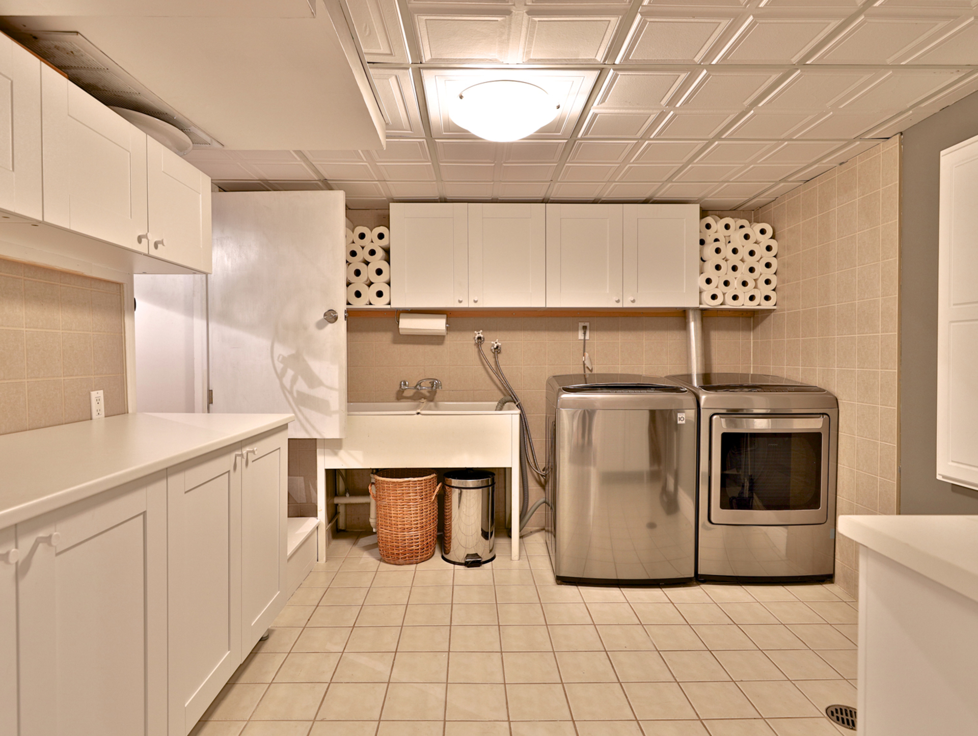 Laundry Room at 21 Deerpath Road, Parkwoods-Donalda, Toronto