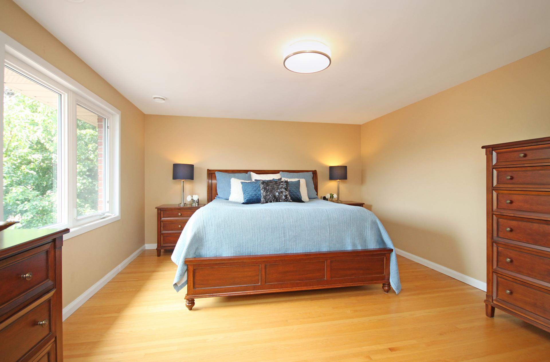 Master Bedroom at 12 Summerton Place, Tam O\'Shanter-Sullivan, Toronto