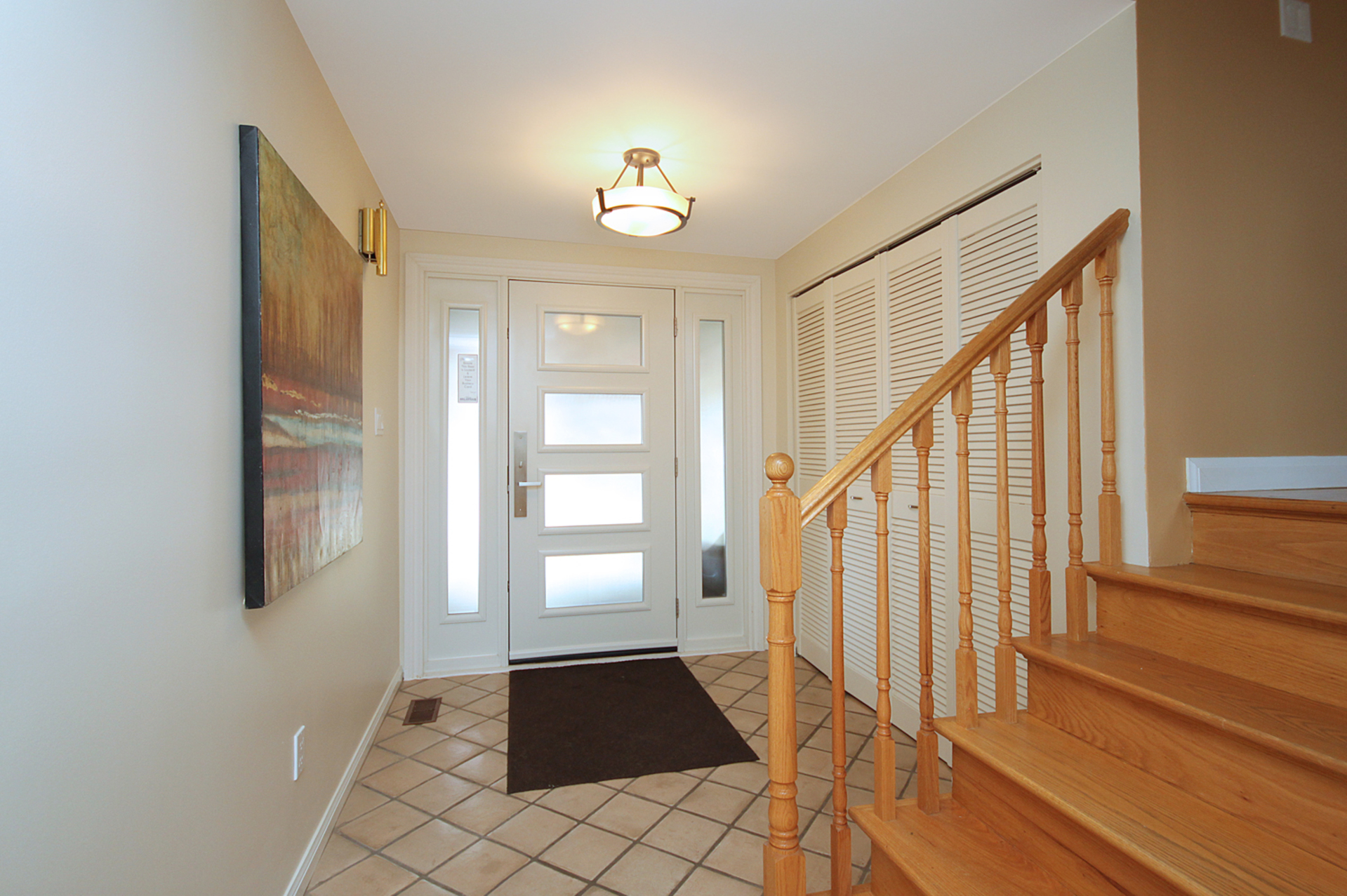 Foyer at 12 Summerton Place, Tam O\'Shanter-Sullivan, Toronto