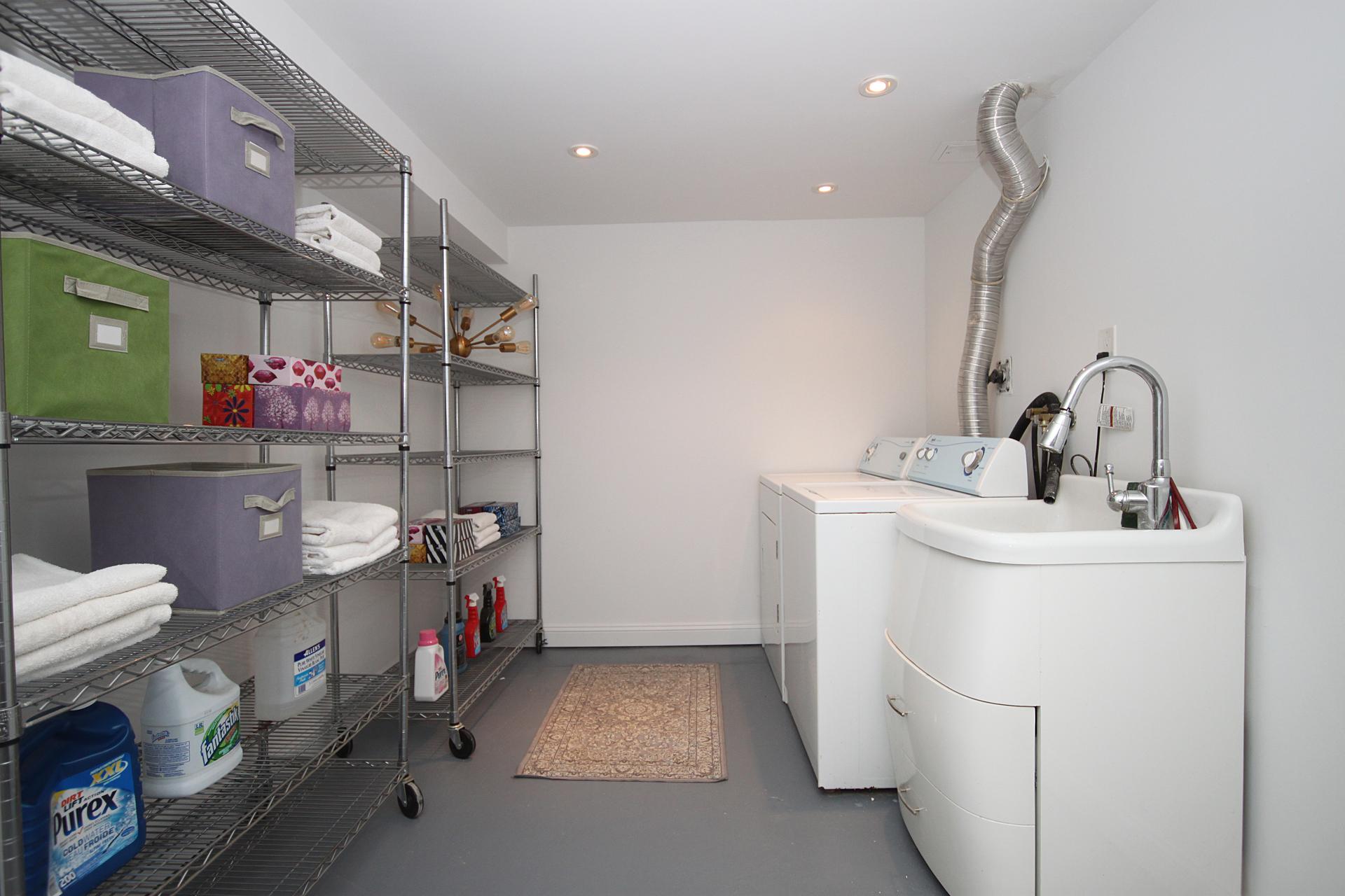 Laundry & Storage Room at 5 Whitefriars Drive, Parkwoods-Donalda, Toronto