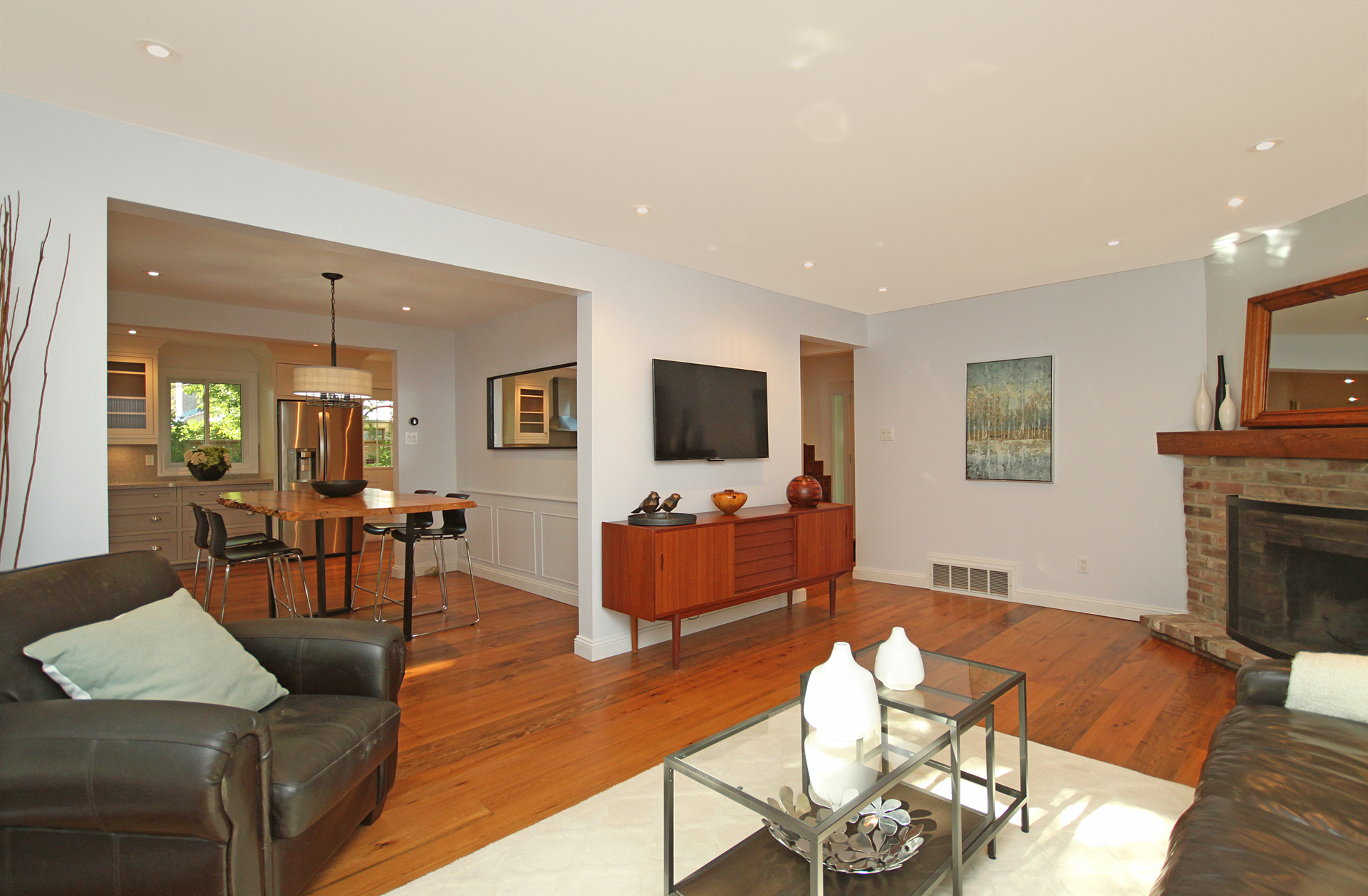 Living Room at 5 Whitefriars Drive, Parkwoods-Donalda, Toronto