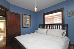 Master Bedroom at 21 Berkshire Avenue, South Riverdale, Toronto