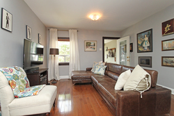 Living Room at 21 Berkshire Avenue, South Riverdale, Toronto