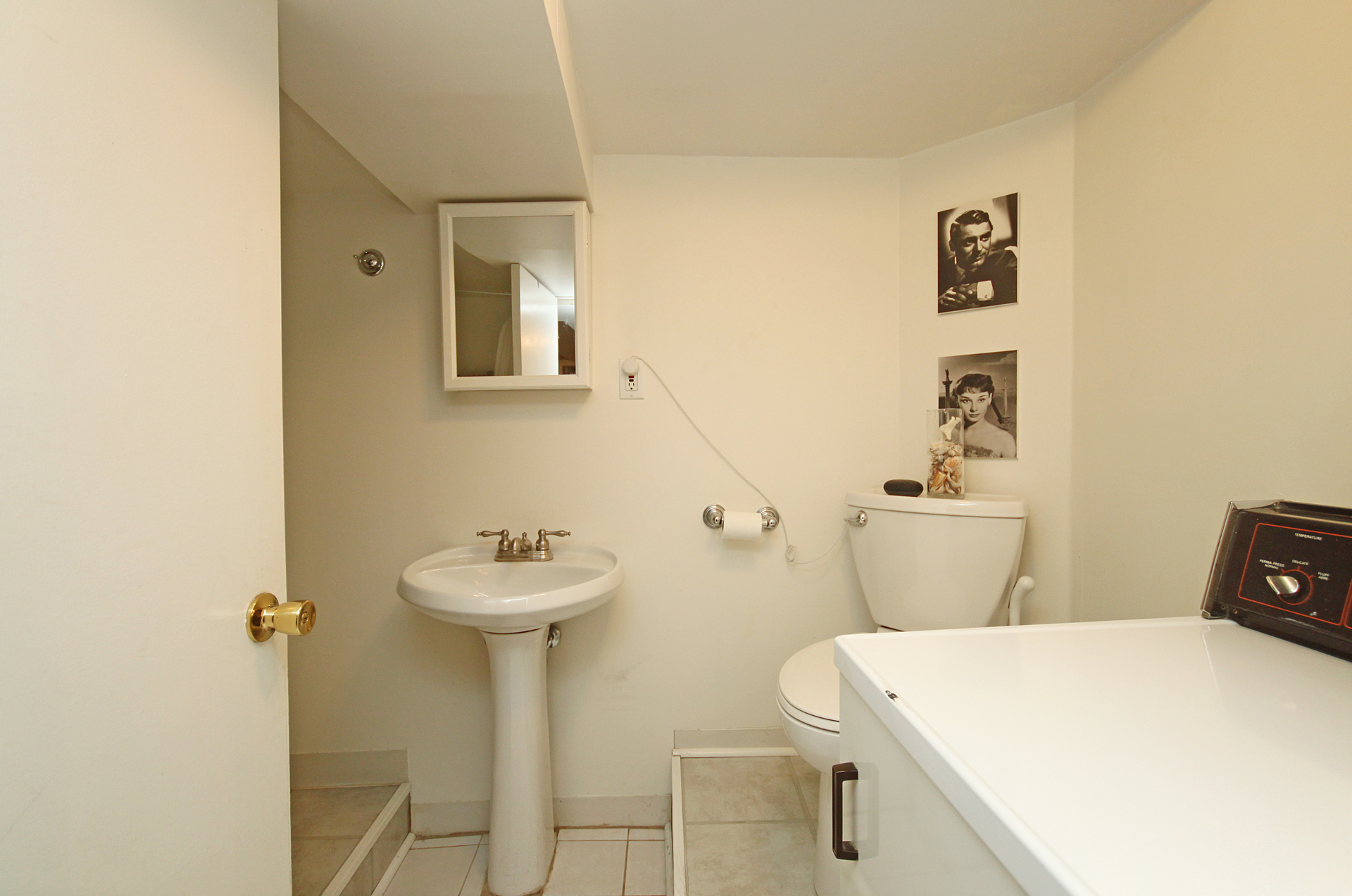 3 Piece Bathroom at 21 Berkshire Avenue, South Riverdale, Toronto