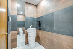 Powder Room at 97 Denlow Boulevard, Banbury-Don Mills, Toronto