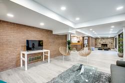 Recreation Room at 97 Denlow Boulevard, Banbury-Don Mills, Toronto