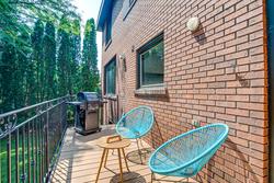 Balcony at 97 Denlow Boulevard, Banbury-Don Mills, Toronto