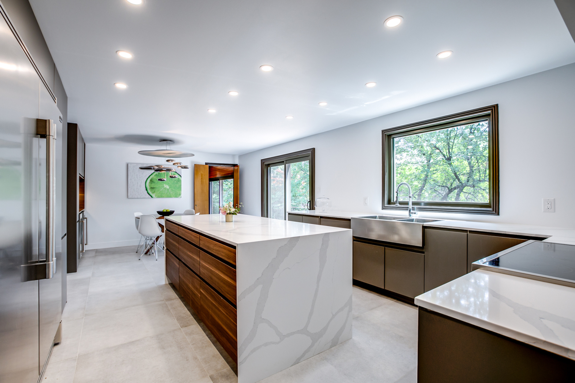 Kitchen at 97 Denlow Boulevard, Banbury-Don Mills, Toronto