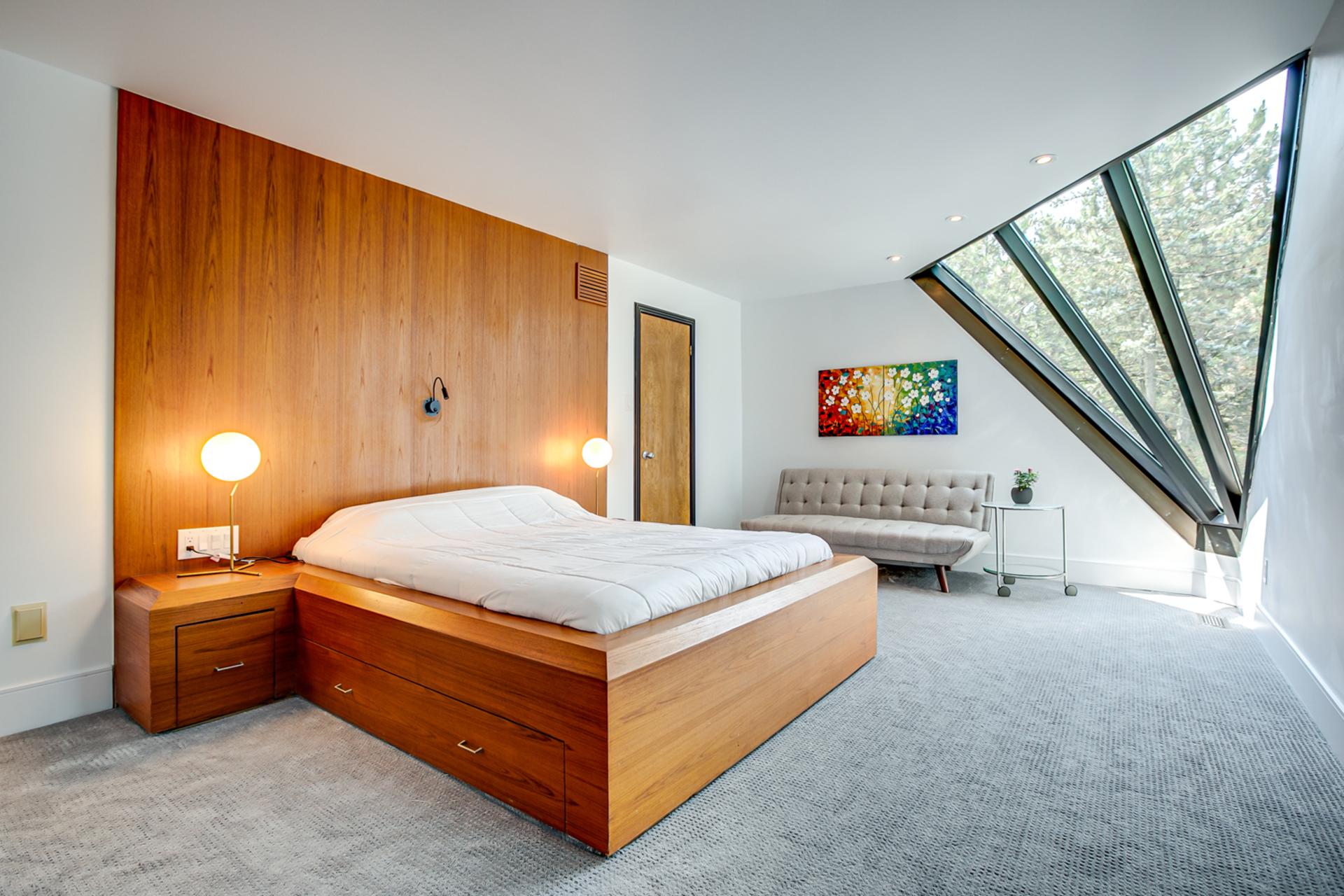 Guest Suite Bedroom at 97 Denlow Boulevard, Banbury-Don Mills, Toronto