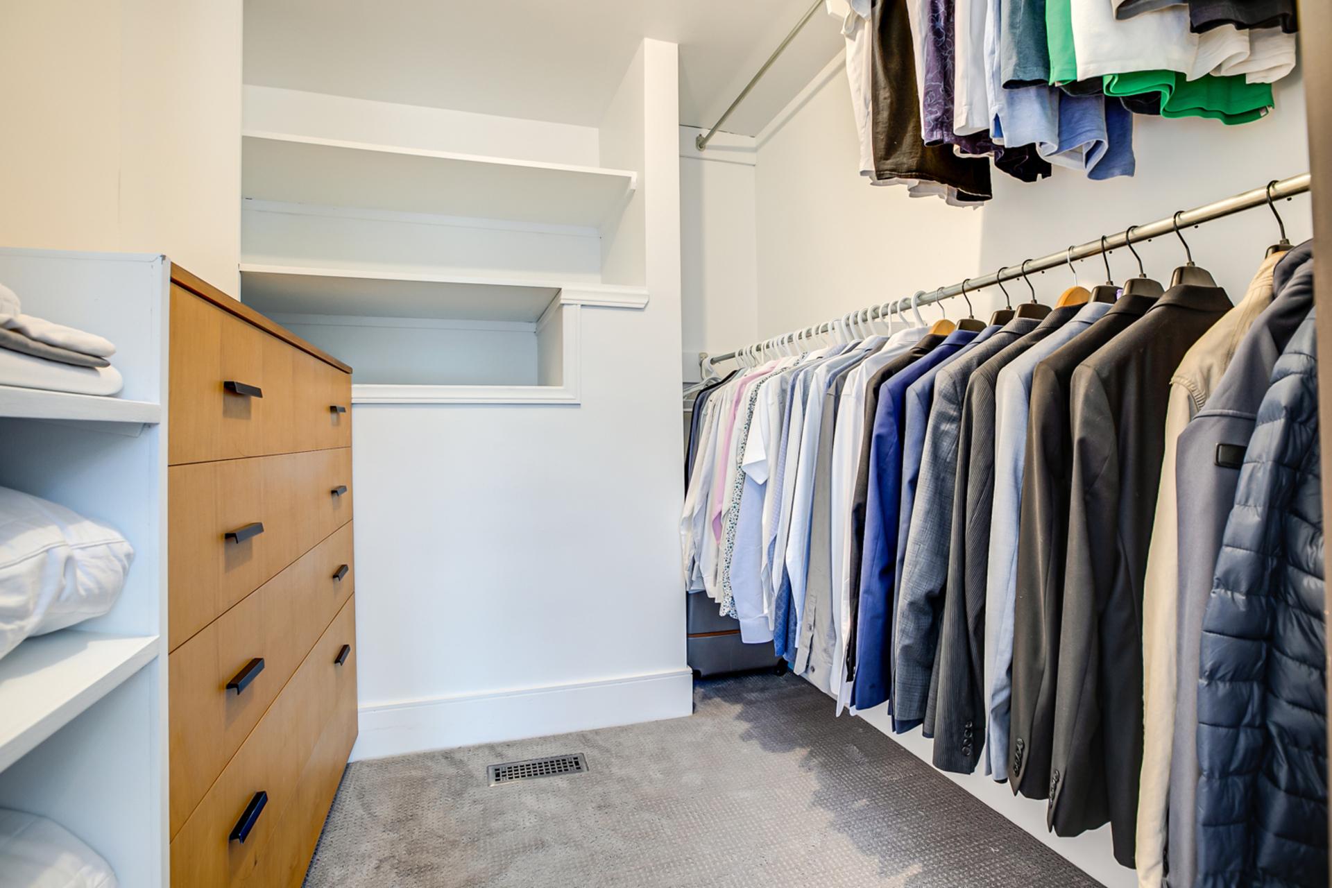 Guest Suite Walk-in Closet at 97 Denlow Boulevard, Banbury-Don Mills, Toronto