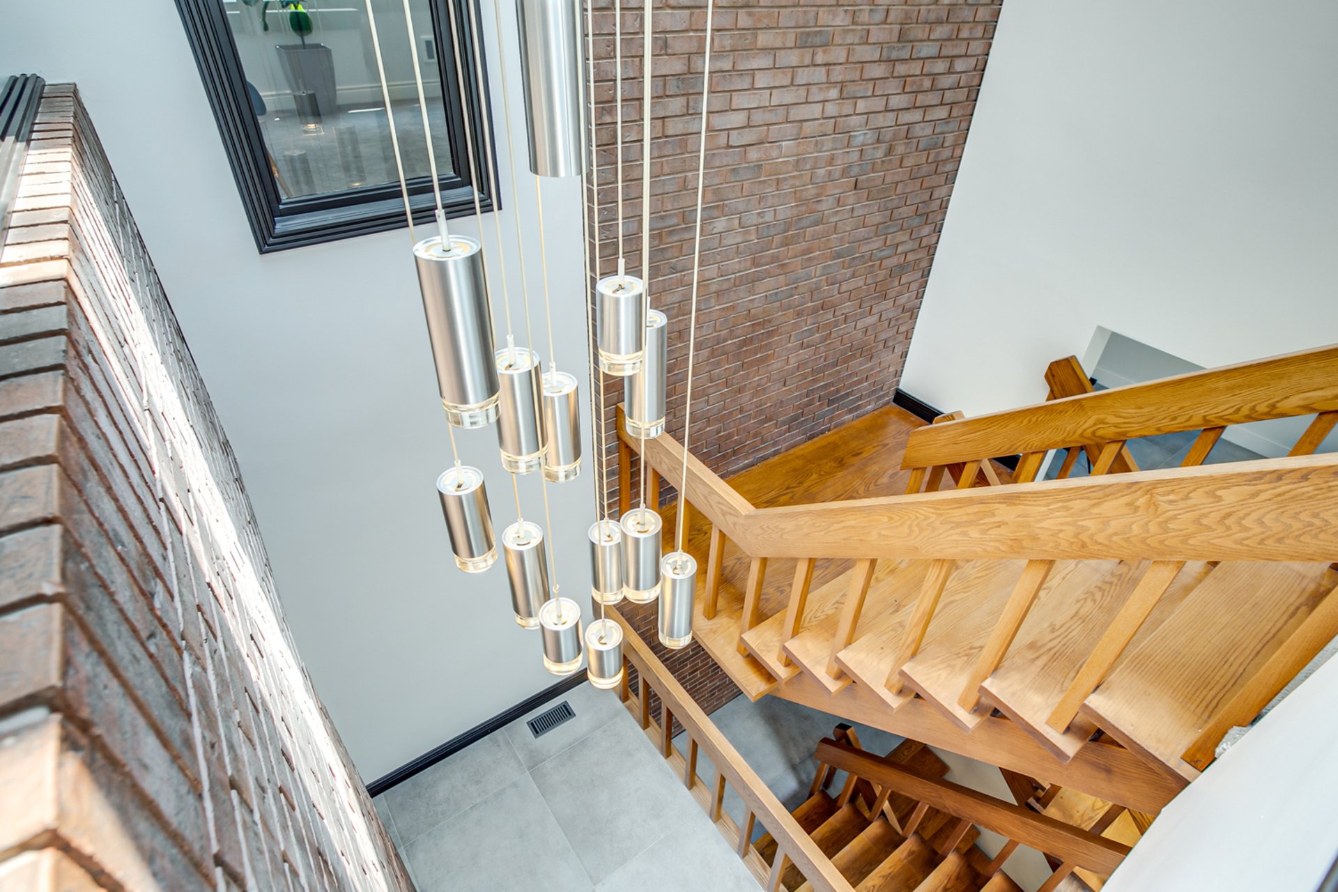 Second Floor Staircase at 97 Denlow Boulevard, Banbury-Don Mills, Toronto