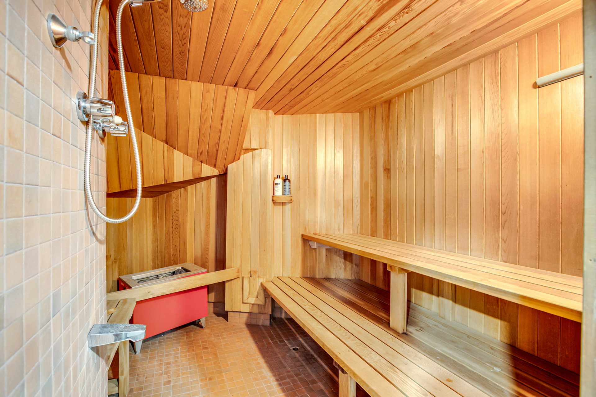 Sauna at 97 Denlow Boulevard, Banbury-Don Mills, Toronto