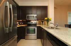 Kitchen at 1209 - 10 Bloorview Place, Don Valley Village, Toronto