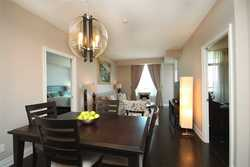 Dining Room at 1209 - 10 Bloorview Place, Don Valley Village, Toronto