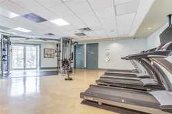 Exercise Room at 1209 - 10 Bloorview Place, Don Valley Village, Toronto