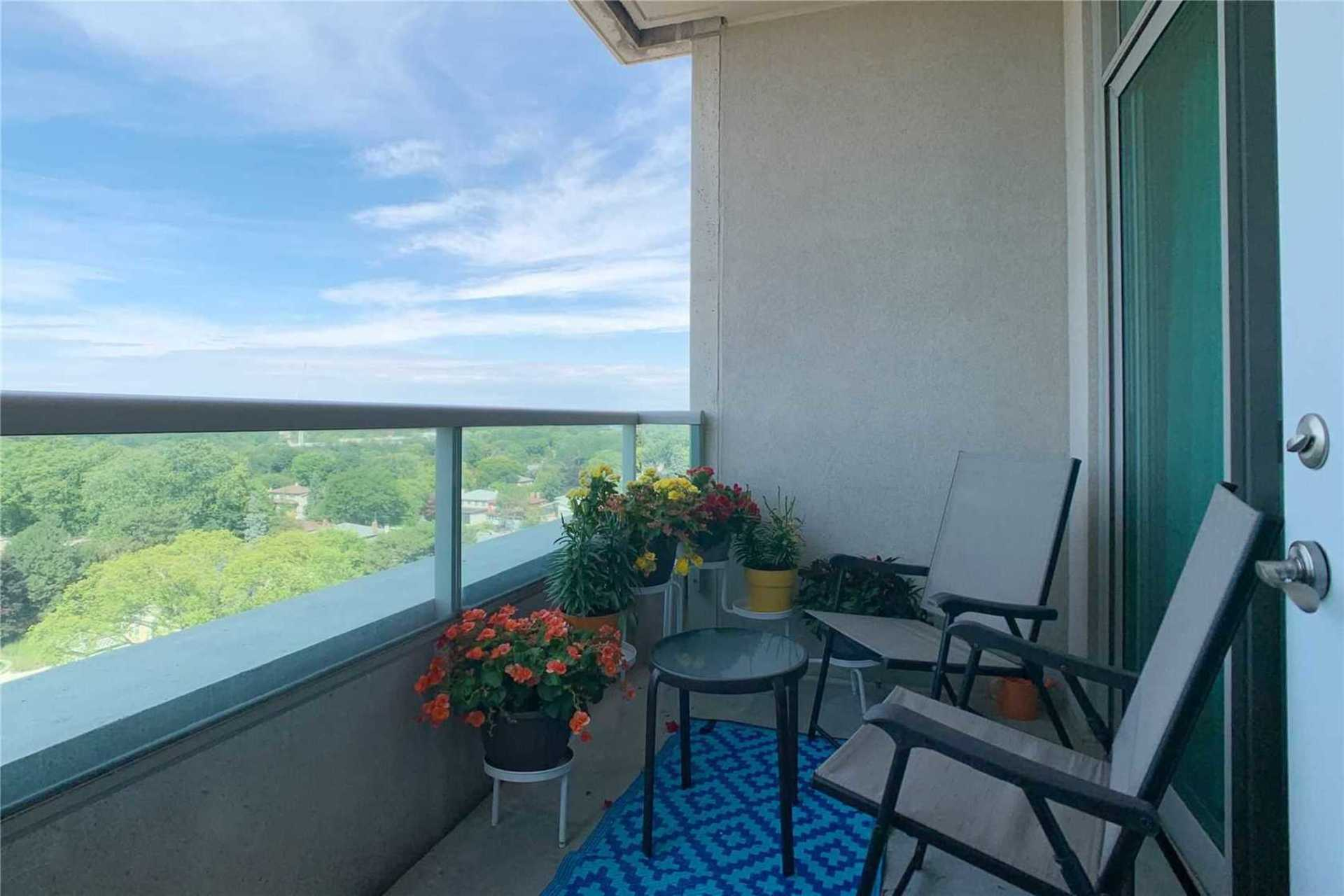 Balcony at 1209 - 10 Bloorview Place, Don Valley Village, Toronto