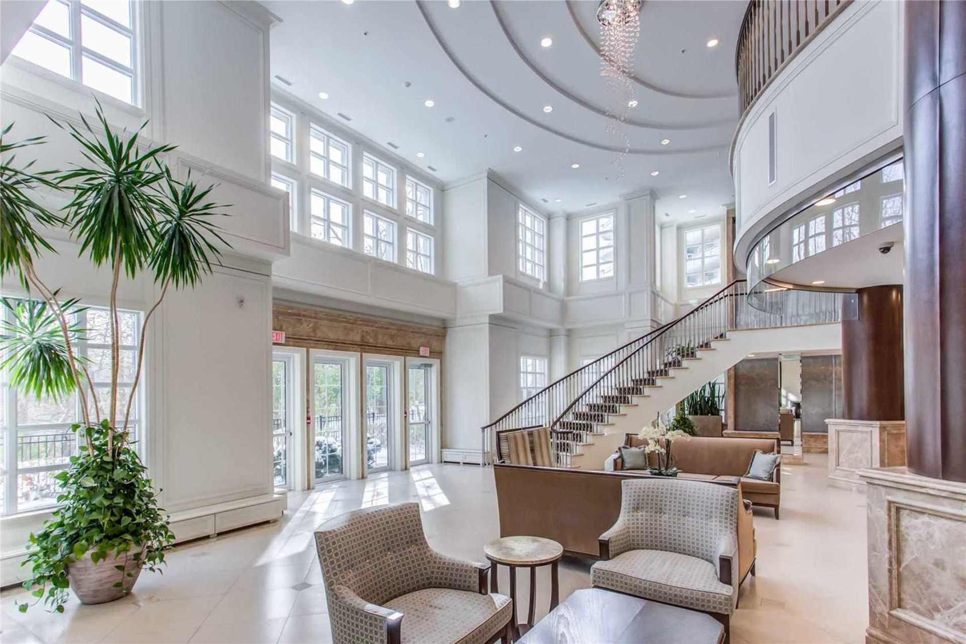 Lobby at 1209 - 10 Bloorview Place, Don Valley Village, Toronto