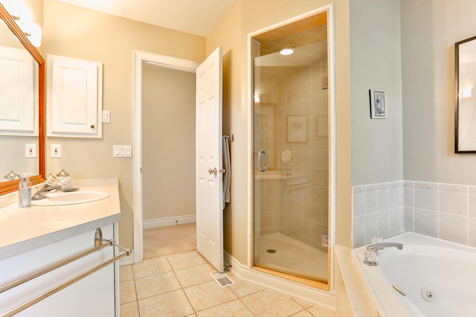 4 Piece Bathroom at 131 Barber Greene Road, Banbury-Don Mills, Toronto