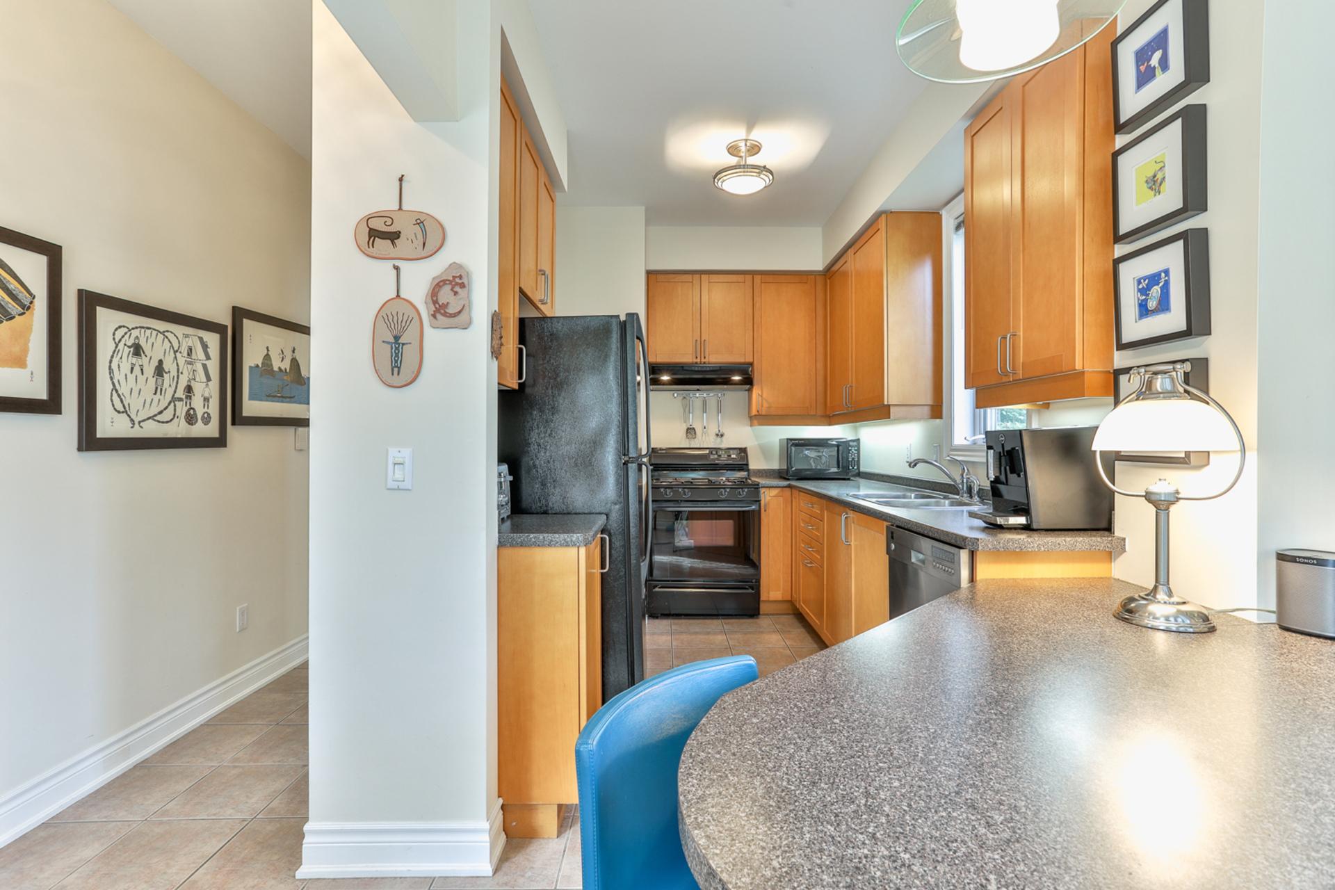 Kitchen at 131 Barber Greene Road, Banbury-Don Mills, Toronto