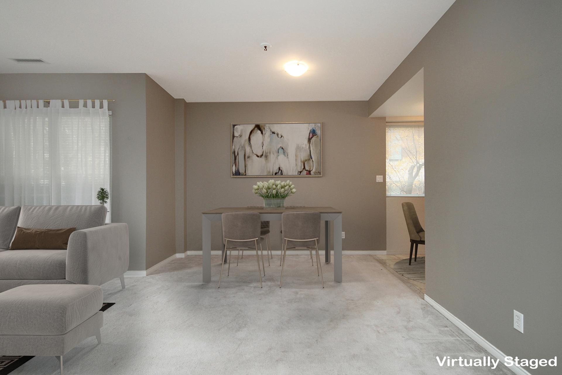 Dining Room at 310 - 600 Eglinton Avenue E, Mount Pleasant East, Toronto