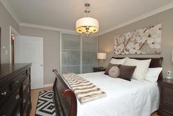 Primary Bedroom at 10 Mere Court, Victoria Village, Toronto