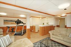 Recreation Room at 10 Mere Court, Victoria Village, Toronto