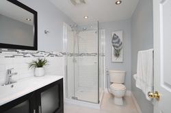 3 Piece Bathroom at 10 Mere Court, Victoria Village, Toronto