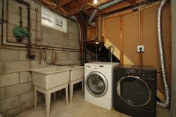 Laundry Room at 10 Mere Court, Victoria Village, Toronto