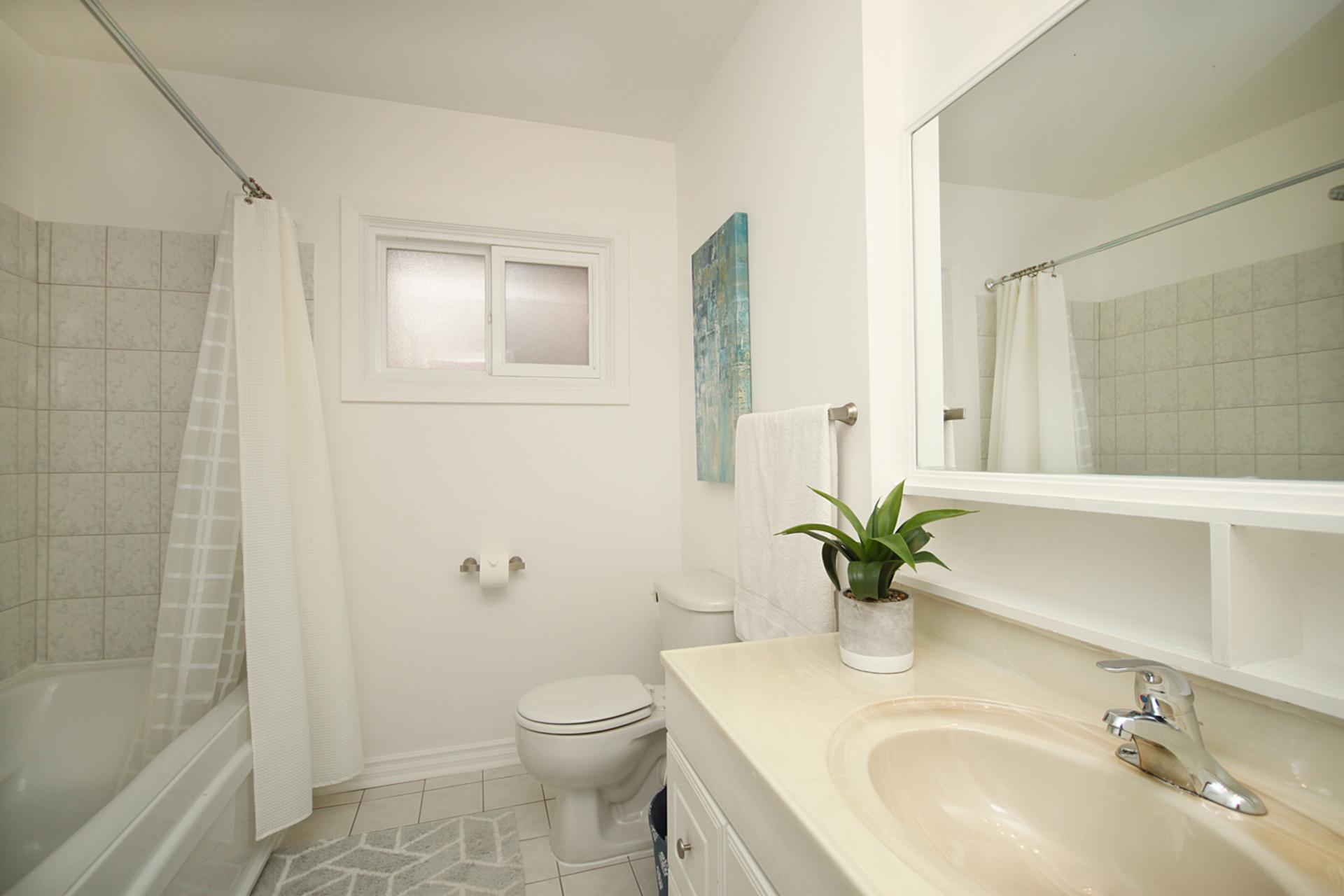 4 Piece Bathroom at 10 Mere Court, Victoria Village, Toronto